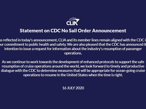NEWS: CDC extends No Sail Order and CLIA Update