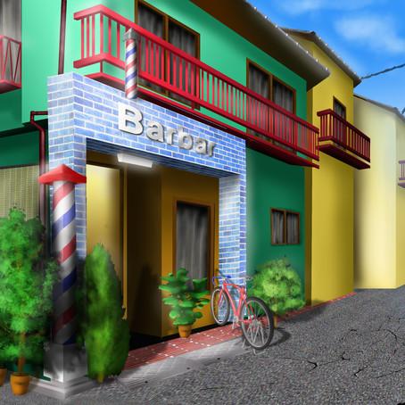 デジタルツールで背景 横浜デジタル画教室:レッスン101