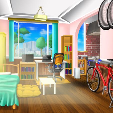 デジタルペイントで風景 横浜絵画教室:レッスン101