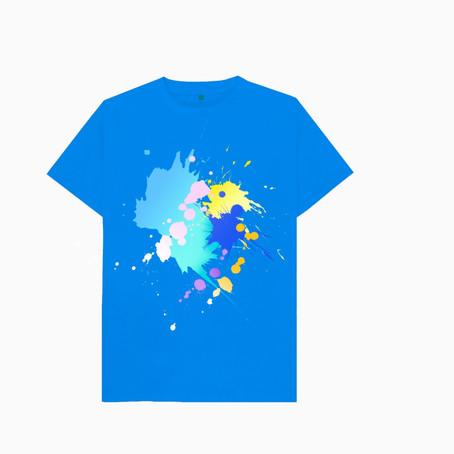 新Tシャツ 横浜絵画デザイン教室:レッスン101