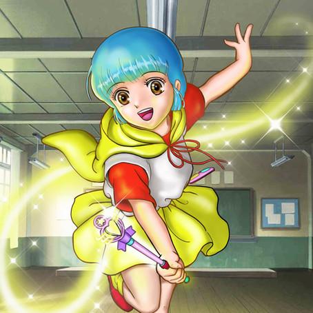 【魔法の天使クリィミーマミ】 デジタル画 横浜デジタルペイント教室:レッスン101