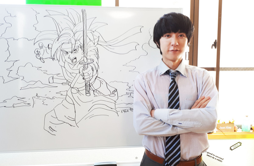 アニメのキャラクターの授業もあります!