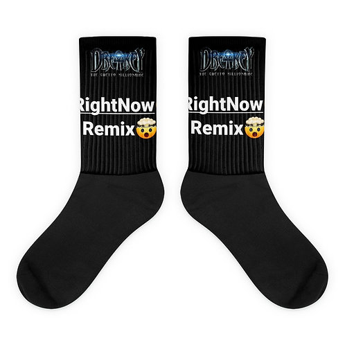 Right Now Remix Socks