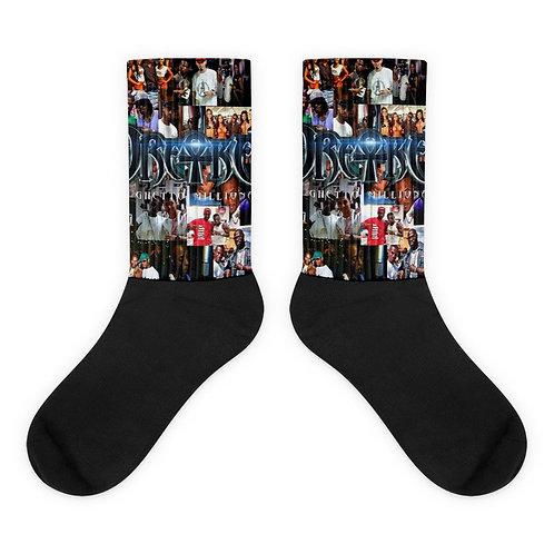 Dre-Key Collage Socks