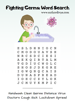 Word search - Fight the Germs