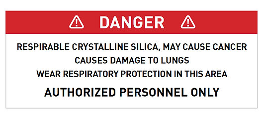 Silica may cause cancer
