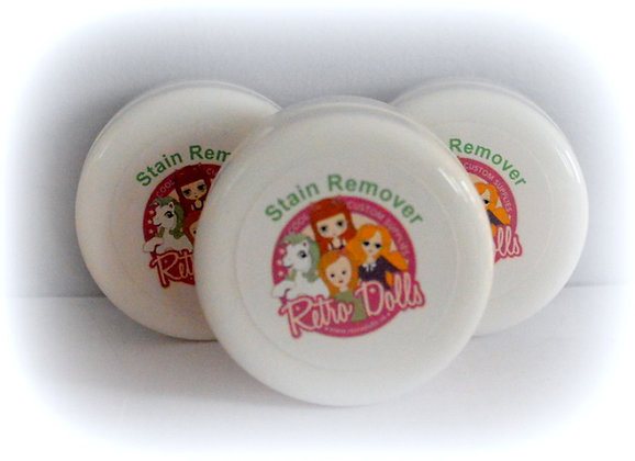 The Doll Hair Emporium stain remover for dolls and toys