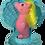 The Doll Hair Emporium Sand Dollar Sea Pony hair match