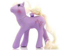 The Doll Hair Emporium MLP hair match for Forget me Not
