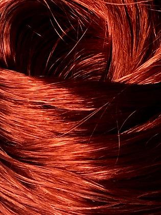 The Doll Hair Emporium Kiwi Nylon metallic doll hair for rerooting