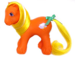 The Doll Hair Emporium MLP Lightning hair match