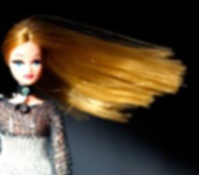 Pippa custom by Alicia Light using Retro Dolls UK hair