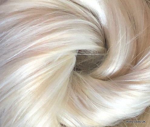 The Doll Hair Emporium© White Bear Nylon for rerooting dolls and MLP