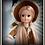 Fleur reroot in Retro Dolls UK Rose Gold Saran by Renata  https://www.etsy.com/uk/shop/RudeAndDisrespectful