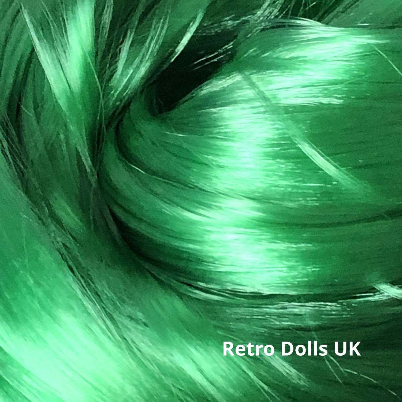 Retro Dolls UK Nylon doll hair for rerooting