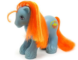 The Doll hair Emporium MLP hair match for Barnacle