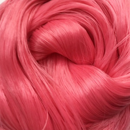Retro Dolls UK© Pink saran doll hair for rerooting and customising dolls and My Little Pony