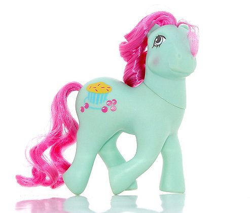 The Doll Hair Emporium hair match for MLP Cranberry Muffins