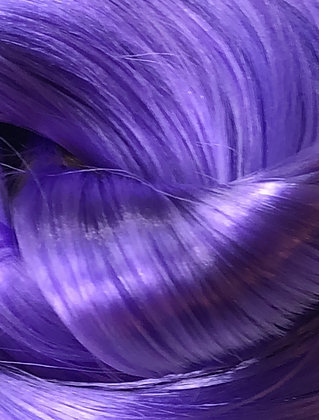 Retro Dolls UK© Purple Nylon doll hair for rerooting and customising Dolls & My Little Pony