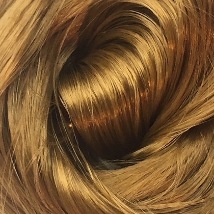 Retro Dolls UK© Retro Gold Saran Doll hair for rerooting and customising dolls and My Little Pony