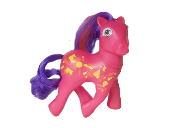 The Doll Hair Emporium MLP hair matches Pretty Beat