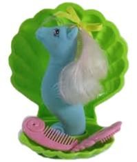 The Doll Hair Emporium MLP Sea Pony hair match for Wave Jumper