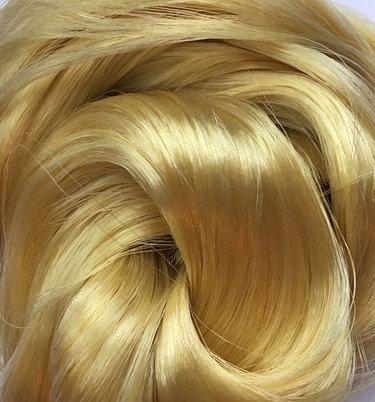 Retro Dolls UK© Lemon Blonde Saran doll hair for rerooting