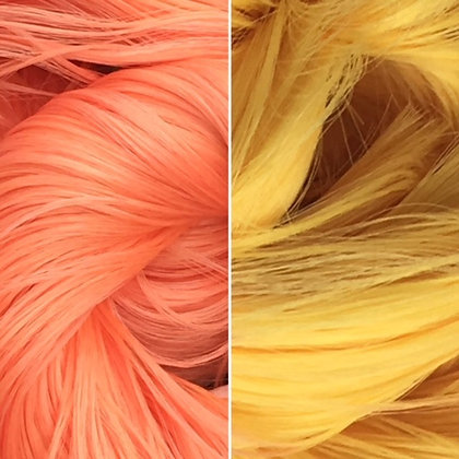 Retro Dolls UK© Thermal colour change doll hair for rerooting and customising dolls and My Little Pony