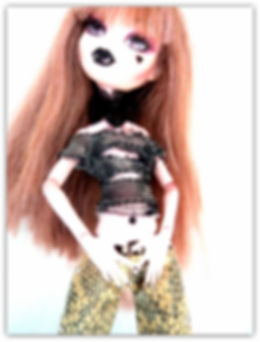 Monster High custom by Melanie@Retro Dolls UK