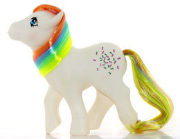 The Doll Hair Emporium MLP Confetti hair match