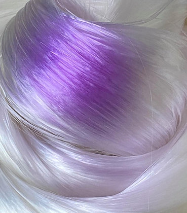 The Doll hair Emporium UV colour change doll hair for rerooting