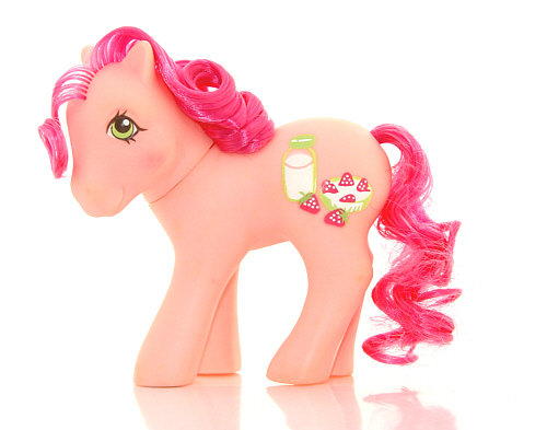 The Doll Hair Emporium hair match for MLP Strawberry Surprise