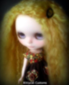 Blythe reroot by Kitty Kat Customs