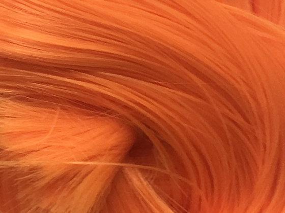 Retro Dolls UK©  Orange Nylon doll hair for rerooting