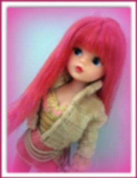 Sindy Custom in Kanekalon by Melanie@Retro Dolls UK
