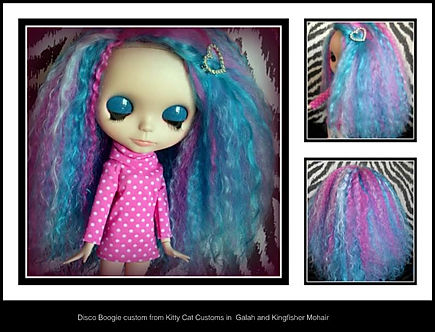 Blythe custom by Kitty Kat Customs