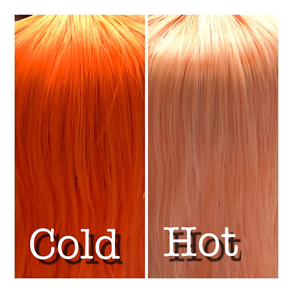 Retro Dolls UK© Thermal Colour change doll hair for customising dolls and MLP