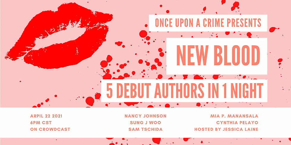 New Blood: 5 Debut Authors in 1 Night