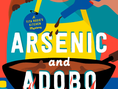 ARSENIC AND ADOBO Cover Reveal and Exclusive Excerpt at CrimeReads