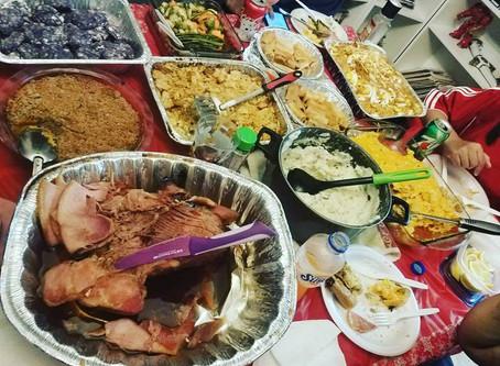 Filipino-American Thanksgiving (and ube pie!)