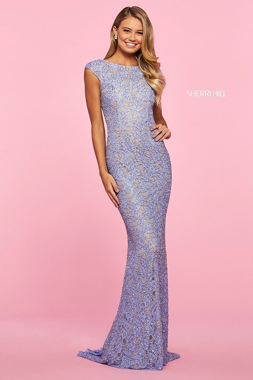Sherri Hill - 53446 Emerald Size 14