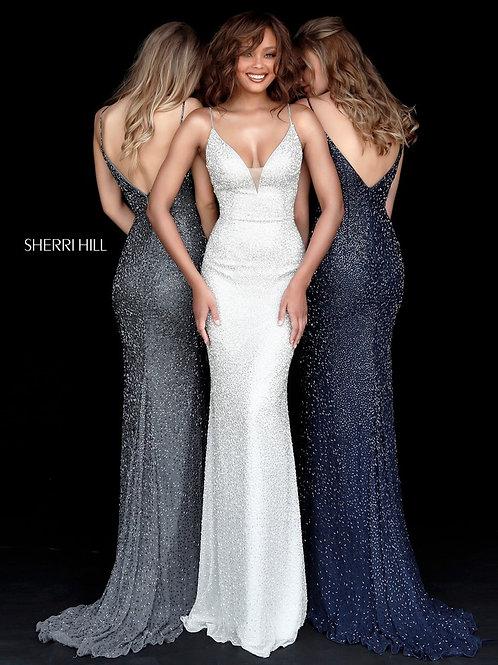 Sherri Hill - 50860 Red Size 6