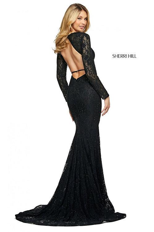 Sherri Hill - 53682 Black Size 4