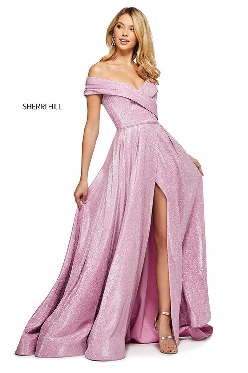 Sherri Hill - 53499 Royal/Silver Size 12