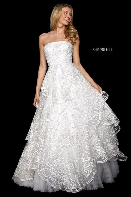 Sherri Hill - 53209 Blush Size 8