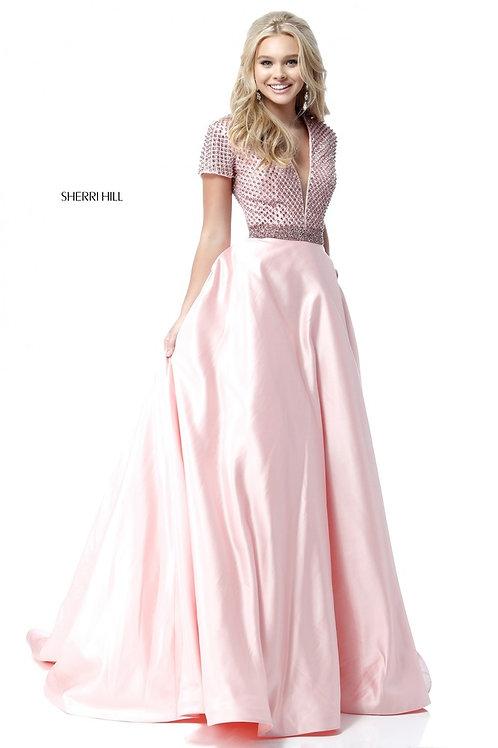Sherri Hill - 51819 Blush Size 10