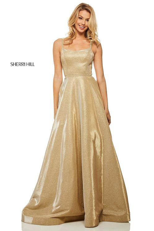 Sherri Hill - 52716 Gold Size 0