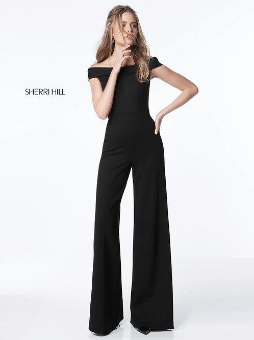 Sherri Hill - 51433 Navy Size 10