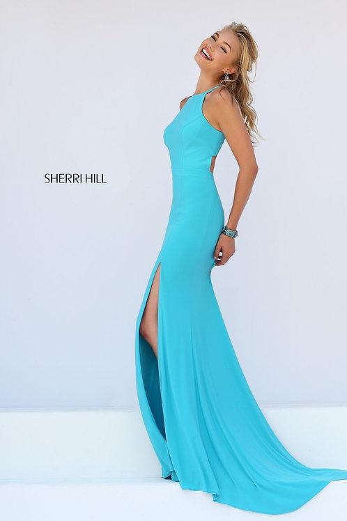 Sherri Hill - 51682 Teal Size 0