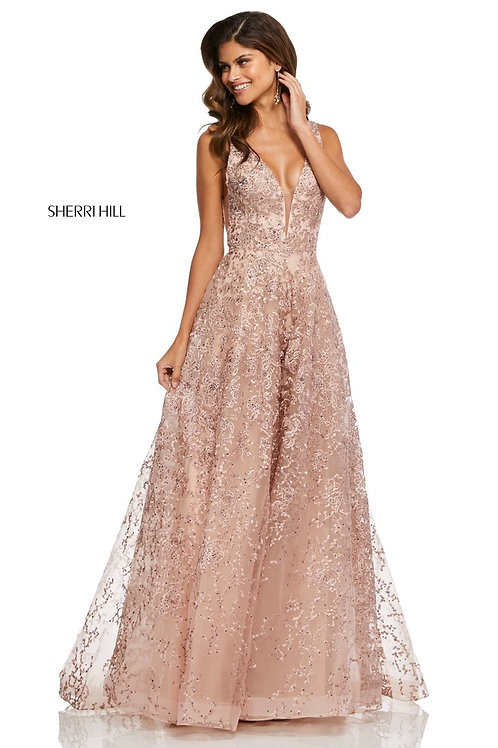 Sherri Hill - 52877 Red Size 6 Ivory Size 10